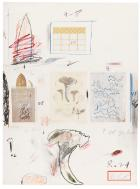Natural History Part I - Mushrooms (No. VI) by Cy Twombly