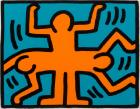 Untitled, from the Pop Shop VI series by Keith Haring