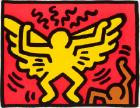 Untitled, from the Pop Shop IV series by Keith Haring