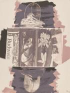 Hollywood Sphinx, from the series Illegal Tender L.A. by Robert Rauschenberg