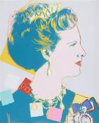 Reigning Queens: Queen Margrethe II of Denmark by Andy Warhol