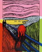 The scream (after Munch) by Edvard Munch