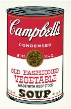 Old Fashioned Vegetable (from Campbell's Soup II) by Andy Warhol